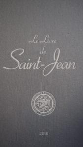 LIVRE 2018 Saint-Jean de Passy