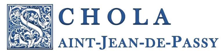 Schola Saint-Jean de Passy
